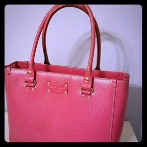 Kate Spade PINK Wellesley Leather Handbag