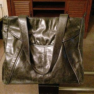 Kenneth Cole Reaction Handbags - Kenneth Cole Reaction aged leather tote
