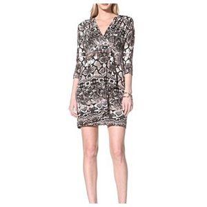 Muse Dresses & Skirts - MUSE snake print drape dress