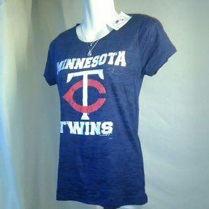 5th & Ocean Tops - NWT Minnesota twins women's size M tee