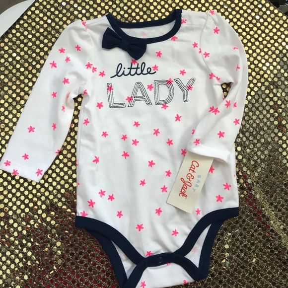 b0fb337fc Cat & Jack One Pieces | Cat Jack Baby Onesie New | Poshmark