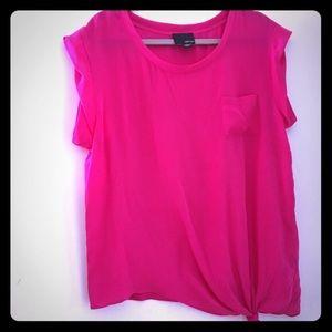Greylin Tops - Greylin fuschia blouse