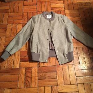 💕VDAY SALE💕OLD NAVY Grey Varsity Jacket
