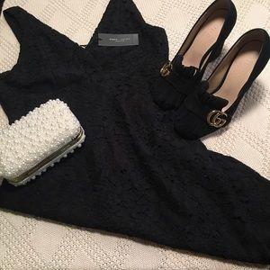 Romeo & Juliet couture black lace dress
