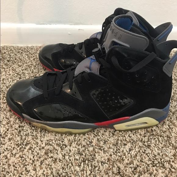 40cc42e0f55ad2 Nike Air Jordan 6 VI Retro Detroit Pistons 12. M 58c4934fa88e7de2cb011989
