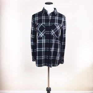 Bershka Tops - 🔥PRICEDROP🔥NWT Bershka plaid button up shirt M