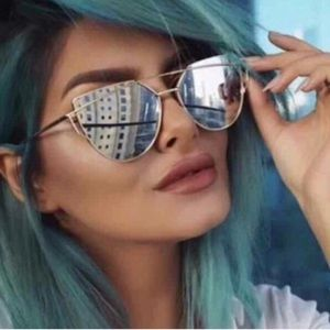 Accessories - The KYLIE Mirrored Cat Eye Sunglasses