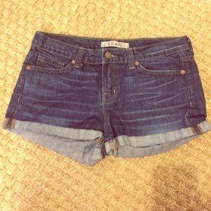 J Brand Pants - J Brand Denim Cuffed Jean Shorts size 26