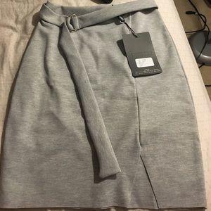 Missguided Grey Skirt