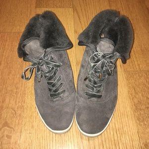 Joie Marist Shearling Sneakers
