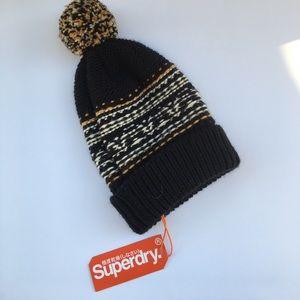 Superdry Accessories - Brand New Superdry Winter Beanie