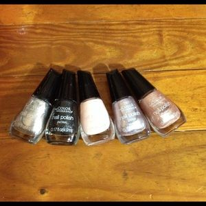 Nail polish set of five