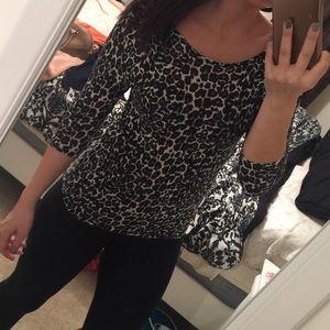 H&M Cheetah Shirt