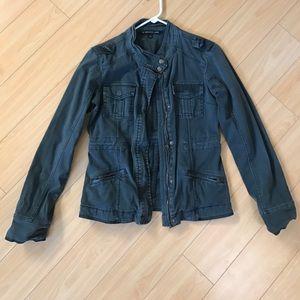 Grey Cargo Jacket