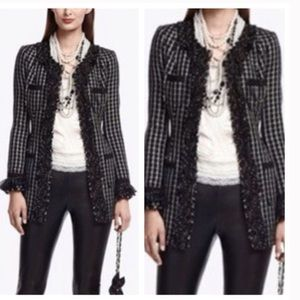 White House Black Market Jackets & Blazers - WHBM ruffle jacket