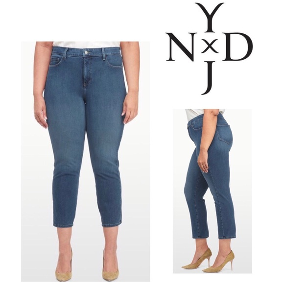 747301faf3e8d NYDJ Ira Relaxed Ankle 360 Lift Tuck. M 58c4a2702de5127e960144d9. Other  Jeans ...