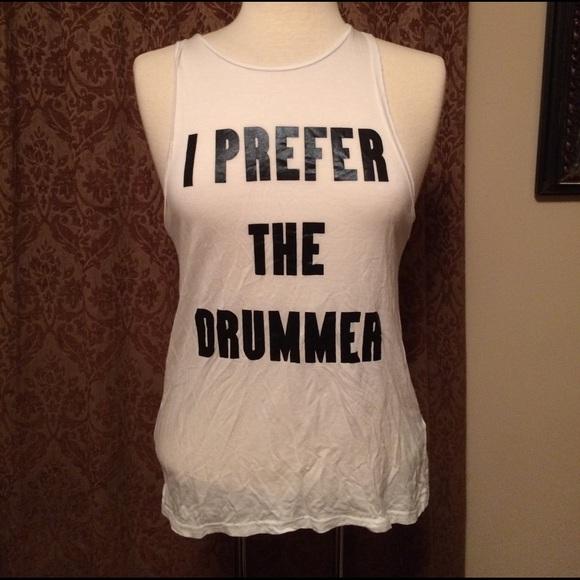 effd67078f207 H M Divided Tops - H M Divided I Prefer the Drummer Tank ...