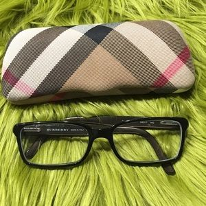 Burberry Accessories - BURBERRY readers brown and black w/case