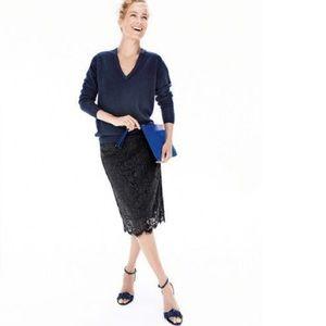 J. Crew Dresses & Skirts - J. Crew lace Skirt