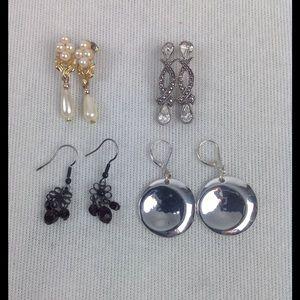 Jewelry - Bundle of Four Earrings