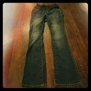 Paris Blues Denim - Maternity Jeans