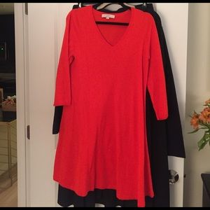 LOFT Dresses & Skirts - Orange sweater dress