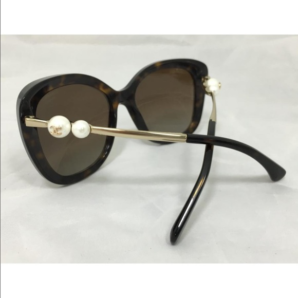 1fe84fc024f CHANEL Accessories - Chanel Pearl Tortoise sunglasses
