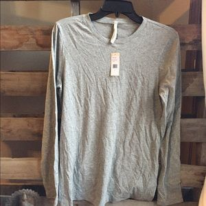 Nanette Lepore Tops - Oonagh by Nanette Lepore L nwt gray l/s WA-116