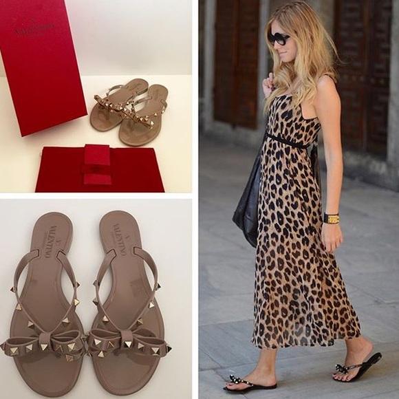 b470baf6db Like New Valentino Poudre Rockstud Jelly Sandals. M_598fc1e536d5942d740f3c14