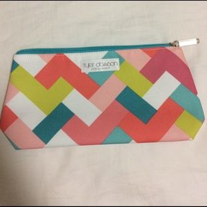 Clinique Handbags - Clinique designer makeup bag