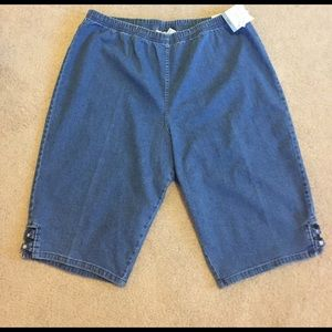 croft & barrow Pants - NWT Comfy Denim Skimmer