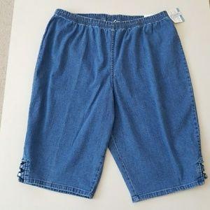croft & barrow Pants - NWT Comfy Denim Skimmer