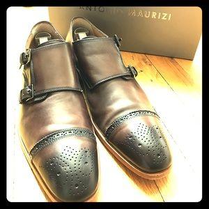 Antonio Maurizi Other - Antonio Maurizi brown leather Double Monkstrap