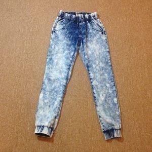 Indigo Rein Pants - Awesome acid-wash denim joggers