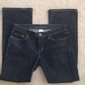 Banana Republic Women's Dark Wash Boot-Cut Jeans