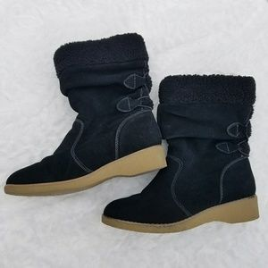 Land's End Back-lace Chalet Suede Boots