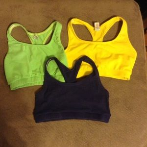 Jacques Moret Other - Lot of 3 sports bra size small Jacques morets