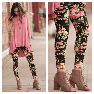 Infinity Raine Pants - ❌Final Price Drop❌ Floral Leggings (SO soft!!)