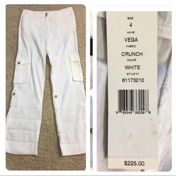 39634470c8 Theory Pants | Nwt Vega Crunch White | Poshmark