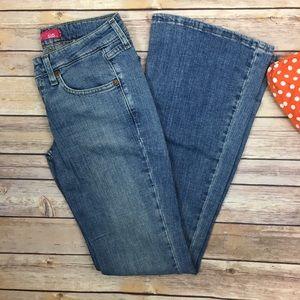Levi's Denim - Levi's super low boot cut light jeans