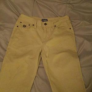 Other - Chaps size 14 boys khaki pants strait cut
