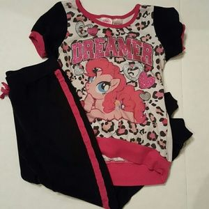 My Little Pony Other - My Little Pony Dreamer Pink & Black Outfit