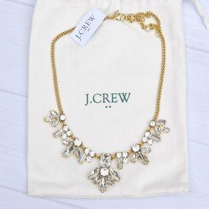 J. Crew Crystal Gem Statement Necklace