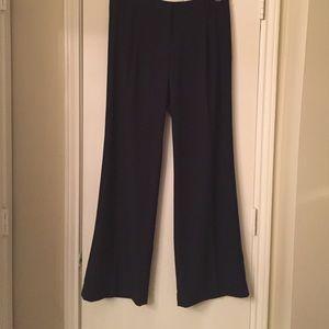 Mercer & Madison Pants - Mercer and Madison Flare Navy Blue Office Pants