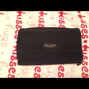 kate spade Handbags - Kate Spade Black Nylon Wallet