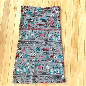 Billabong Dresses & Skirts - Tribal Print Mini Dress