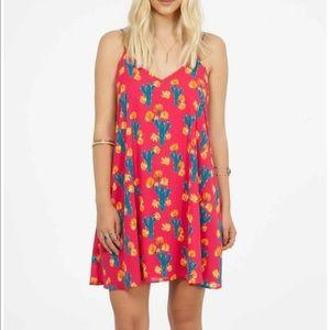 Peach Love California Dresses & Skirts - Peach Love pink cactus dress nwt