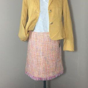 Grace Elements Dresses & Skirts - NWTs! Pastel Colors Boucle Skirt