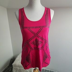 Kenneth Cole Tops - Kenneth Cole New York Pink Tank Top Medium