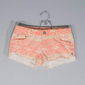 Vanilla Star Pants - Vanilla Star Patterned Shorts